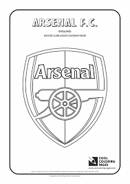 Small Picture Cool Coloring Pages Soccer Club Logos Arsenal FC logo