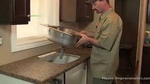 Kitchen How To Install A Kitchen Sink Bob Vila Intended For With - Installing a kitchen sink