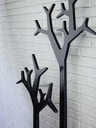 Wall Mounted Tree Coat Rack wall mounted coat racks brokenshaker 14