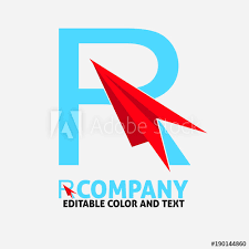 Template Website Stunning R Letter Logo Design Vector Icon Template For Website Or Business