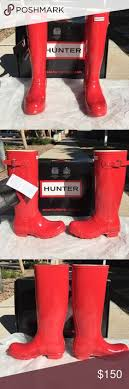 hunter boots size 6 red hunter boots nwt more red hunter boots rain boot and rain ideas