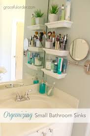 Small Bathroom Storage Ideas Inspiration 28 Best Tiny Bath Images On Pinterest Bathroom Bathroom Ideas