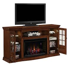com classicflame 32mm4486 p239 seagate tv stand for tvs up to 80 pecan electric fireplace insert sold separately kitchen dining