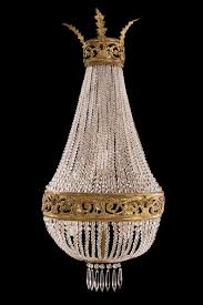 late 19th century crystal chandelier