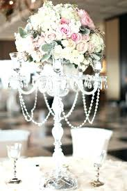 how to make chandelier centerpieces candelabra