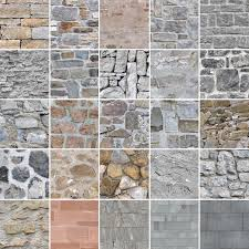 stone wall textures seamless and