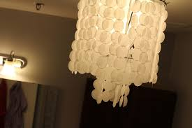 mother pearl shell chandelier lighting