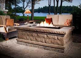 image of prefab outdoor fireplace orange county