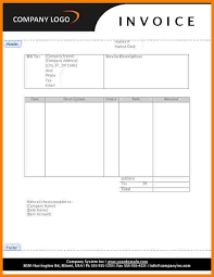 service rendered invoice 6 bill for services rendered form sample travel bill