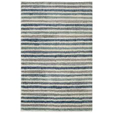 mohawk home boardwalk stripe blue beige indoor inspirational area rug common 8 x 10