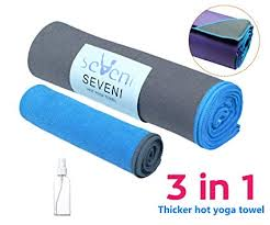 seveni hot yoga towel 72x24 hand towel 15