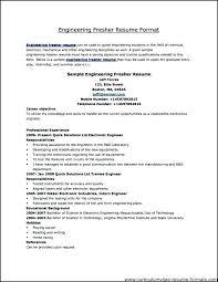 Resume Model Enchanting Model Resume Format Colbroco