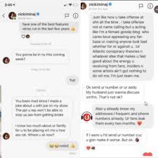 Dj Akademiks Exposed Nicki Minaj Dms Says She Put A Hit On
