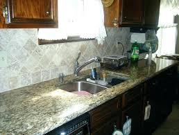 Santa Cecilia Granite With Backsplash Beautiful Compulsory Awesome