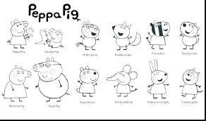 Peppa Pig Coloring Pages U4268 Coloring Pages Pig Printable