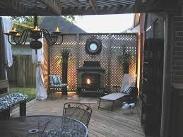 living backyard patio budget