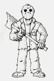 10 Chucky Drawing Jason For Free Download On Ayoqq Cliparts
