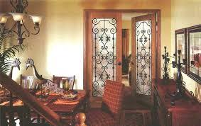 interior french door with glass etched doors