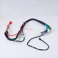 chinese atv wiring harness wiring harness loom for chinese atv quads go kart 50cc 70cc 90cc 110cc 125cc