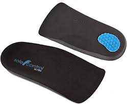 Sole Control <b>2 pairs 3</b>/4 length Ultra Orthotic Insoles, Arch Supports ...