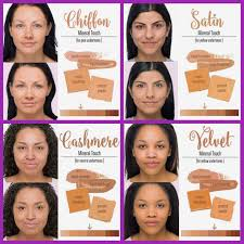 Mineral Touch Foundation Color Chart Color Chart For Our Touch Mineral Foundation Line Skin