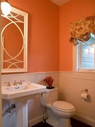 Coral Shower Curtain Coral Color Bathroom