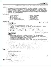 Entry Level Financial Analyst Resume Keralapscgov
