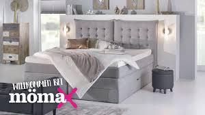 Moderne Betten Bettrahmen Oder Springbox Halbhohe Betten Mömax
