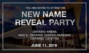 New Name Reveal Party Toyota Arena