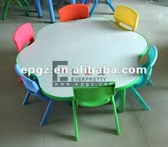 childrens round table and chairs round table and chairs kindergarten round table and chairs sets flower childrens round table