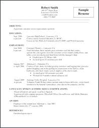 Resume For Airline Job Best Of Resume Examples For Airline Customer Service Together With Customer