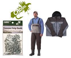 Caddis Northern Guide Waders Jacket Grip Studs Kit Bib 13 Jacket 2xl