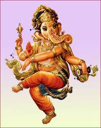 தனது  தந்தத்தை உடைத்து மகாபாரதத்தை எழுதிய விநாயகர்