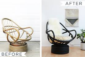 give tired worn wicker furniture a