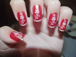 Red Nail Designs and Nail Art - Nail Designs For You