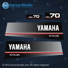 yamaha 70hp outboard. 1991 yamaha outboard 70 hp decal set autolube beto 6h3 decal graphic stiker stickers 70hp
