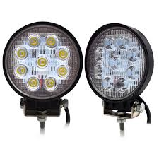 12 Volt Lighting Parts 2pcs 12volt Led Work Lights 54w Round Spot Beam For Offroad