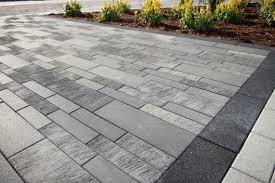 modern patio pavers. Beautiful Modern The Color Variation Used Here Is Known As Winter Marvel And Although It  A Popular Choice For Contemporary Landscapes There Are Also Earthier Options  To Modern Patio Pavers N