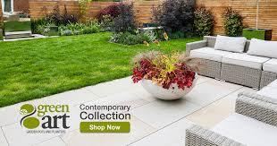 polystone giant plate garden planter