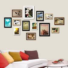 picture frames on wall. Wall Collage Picture Frames 6 On B