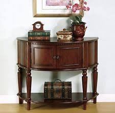 antique entryway table. Entryway Table Console Sofa Storage Cabinet Wood Antique Furniture Half Moon New C