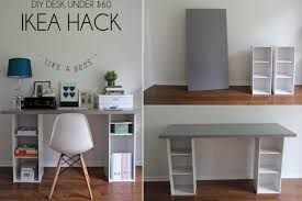 DIY Computer Desk For Small Spaces
