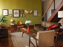 olive green inside any room of your house