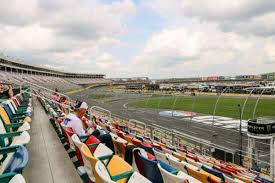 This Seat Is Near Pit Row At Charlotte Motor Speedway