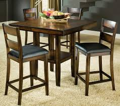 pub set with storage bar stool height two person bar table black round pub table