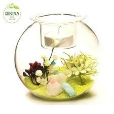 fish bowl vase handmade big round glass new whole transpa clear desktop large uk ikea fish bowl