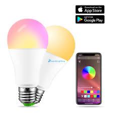 Bóng Đèn Led Rgbw Bluetooth 4.0 15w Điều Khiển Bằng Giọng Nói Thông Minh -  Bóng đèn