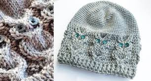Free Owl Hat Knitting Pattern
