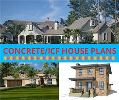 Image Modern The Plan Collection Concrete Block Icf House Plans Vintage Style Is On The Rise Again