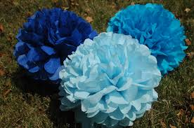 Tissue Balls Party Decorations It's a boy baby shower decorations FREE CONFETTI Tissue paper 49